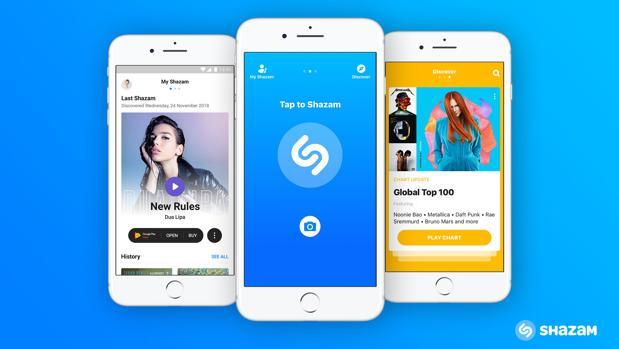 Apple compra Shazam para mejorar su oferta de música