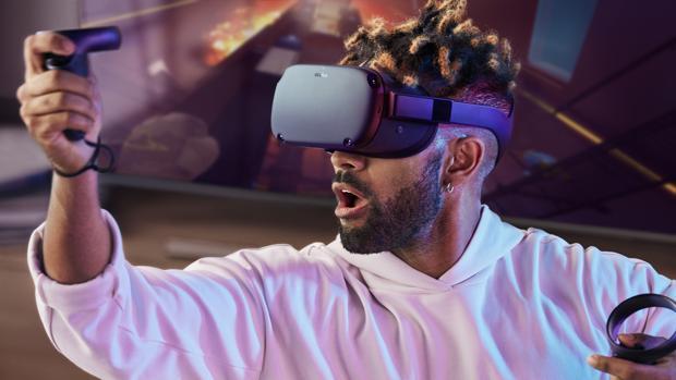 Facebook presenta Oculus Quest, un visor de realidad virtual independiente con el que sueña Darth Vader