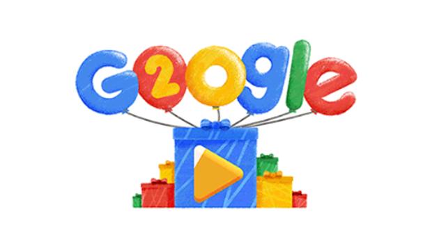 Google celebra su 20º aniversario con un 'doodle' que recuerda las búsquedas más virales de los últimos años