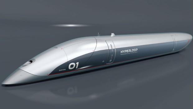 Imagen del prototipo de la cápsula del Hyperloop