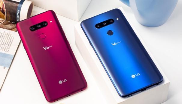LG fía su futuro en el mundo móvil con el V40, un «smartphone» con cinco cámaras