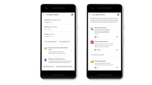 Google: cómo controlar tus datos desde el buscador del móvil