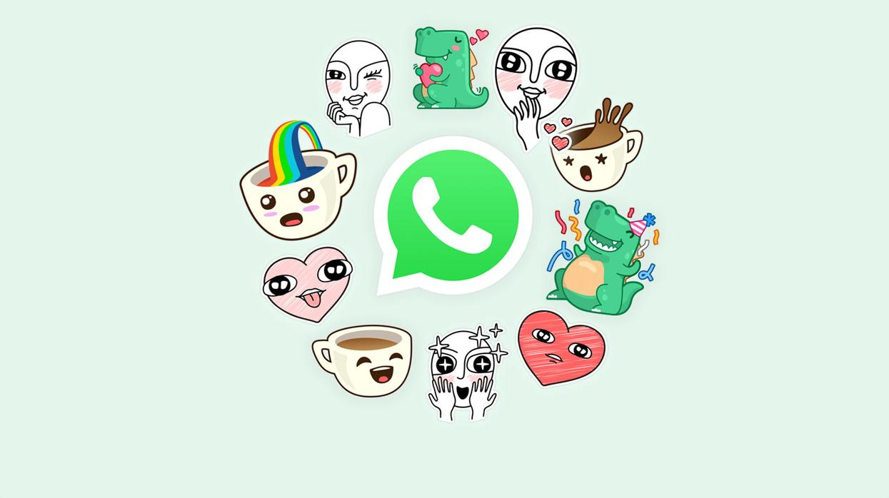 «Stickers» en WhatsApp: cómo descargar y usar los nuevos emoticonos