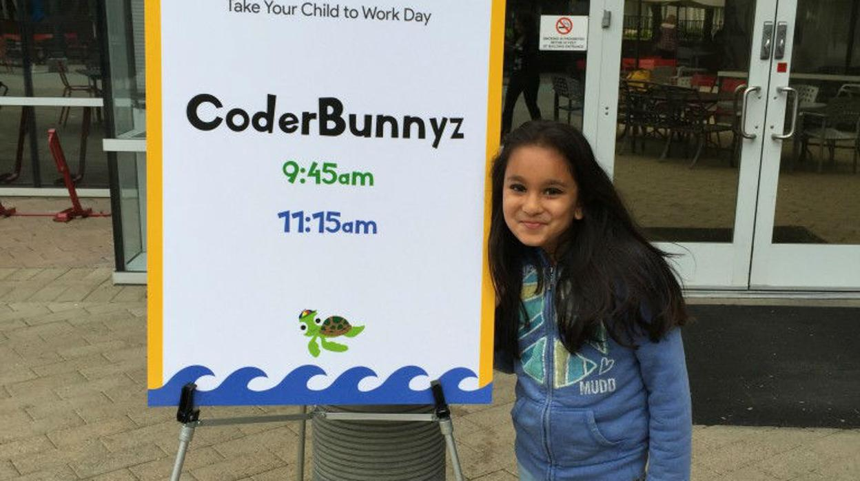 La pequeña programadora de 10 años a la que Google ya ha contratado cuando acabe la universidad