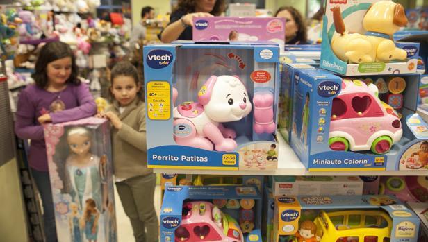 Vtech es una de las principales marcas de juguetes inteligentes