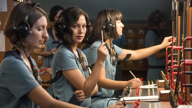Blanca Suárez, en «Las chicas del cable»