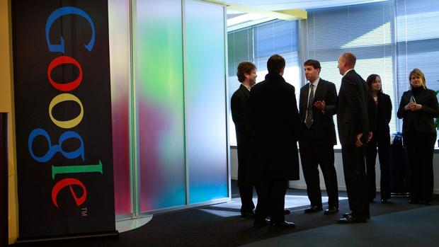Imagen tomada en la sede de Chicago de Google