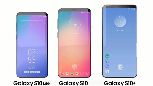 Samsung galaxy s10 los toestel