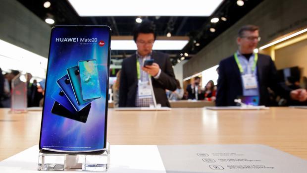 Huawei Mate 20 en la Feria de Electrónica de Consumo CES 2019