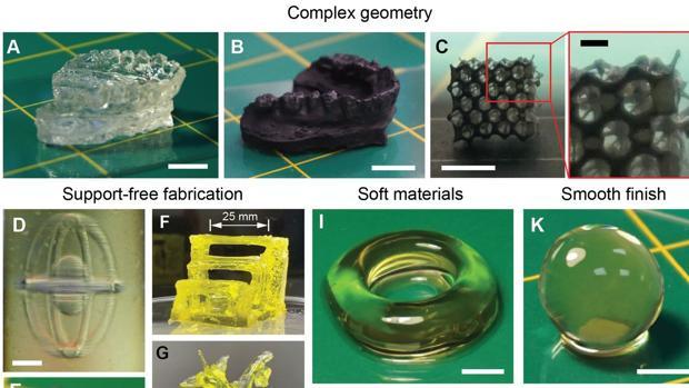 Adiós a la impresión 3D por capas: la nueva impresora que sinteriza modelos completos utilizando rayos de luz