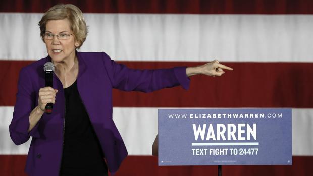 Elizabeth Warren, la candidata demócrata estadounidense que quiere plantar cara a las compañías tecnológicas