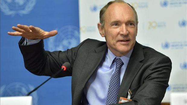 Tim Berners-Lee, durante una intervención pública