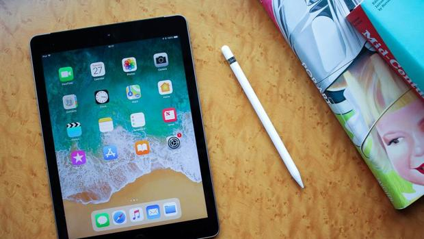 Detalle del iPad lanzado el pasado año