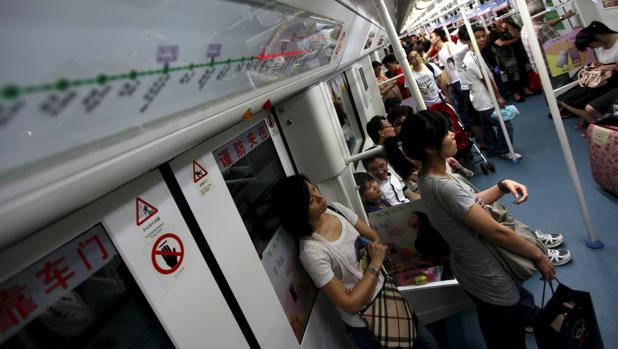 El metro de la ciudad china de Shenzhen permitirá el pago por la cara