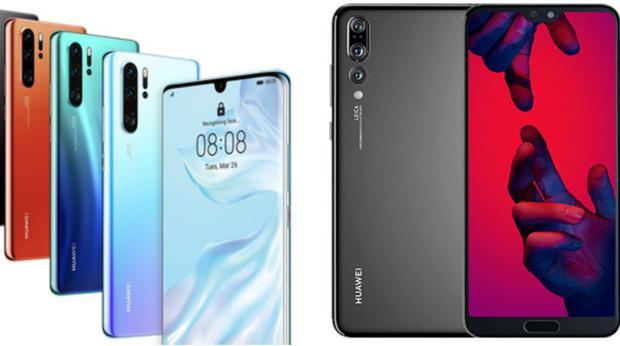Comparativa: Huawei P30 frente al Huawei P20: ¿vale la pena cambiar?