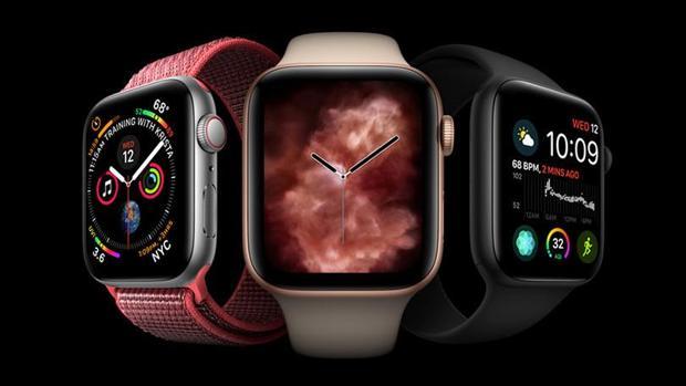 Detalle del Apple Watch series 4