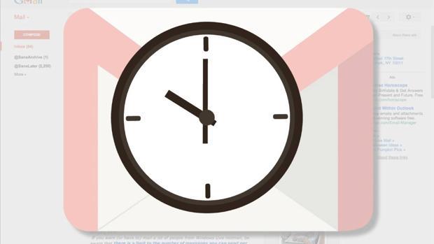 Cómo programar correos en Gmail para que se envíen más tarde