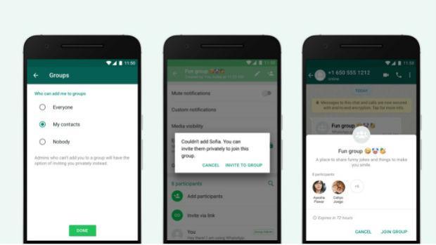 WhatsApp: cómo evitar que te añadan a un grupo