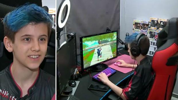 El joven «youtuber» de 14 años que ha ganado 180.000 euros jugando a «Fortnite»
