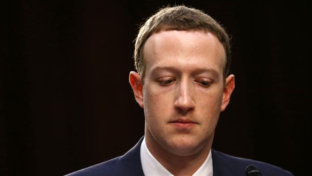 Imagen de archivo de Mark Zuckerberg, CEO de Facebook