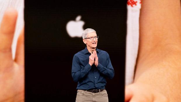 Imagen de archivo de Tim Cook, CEO de Apple, el pasado mes de septiembre