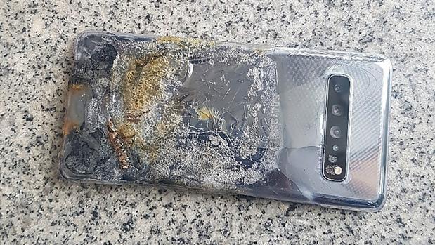 Explota un Samsung Galaxy S10 5G tras un mes de uso
