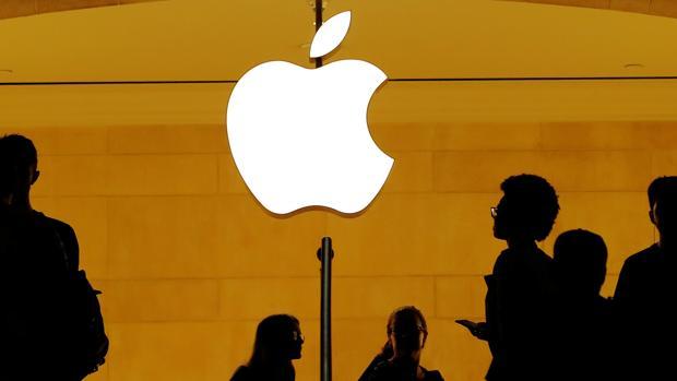 Imagen de archivo de una App Store en Nueva York