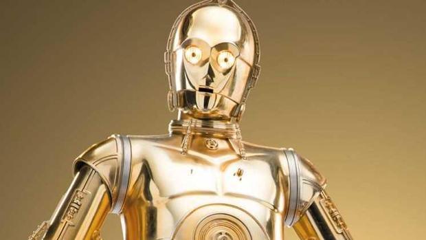 El célebre robot de Star Wars, C3PO, es un androide de protocolo que «habla» seis millones de idiomas