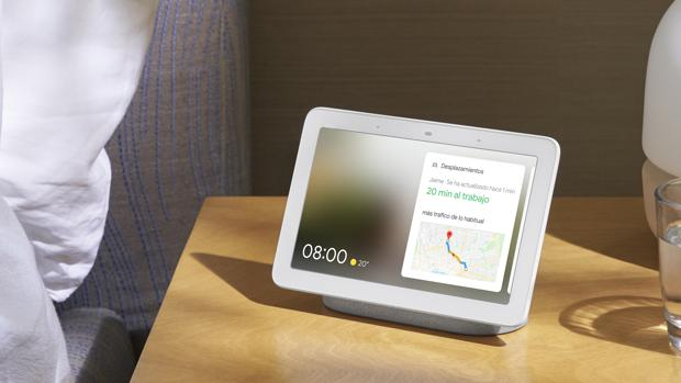 Así es Nest Hub, el primer altavoz inteligente de pantalla de Google