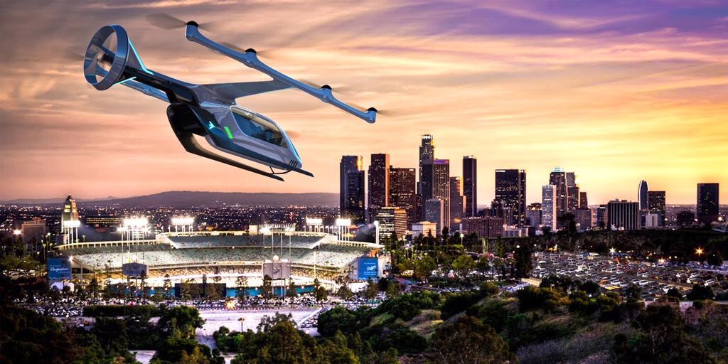 Adiós a los atascos: los taxis voladores de Uber empezarán a volar en Nueva York en julio