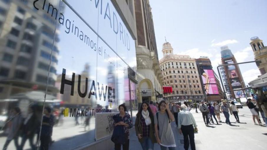 Huawei abrirá el 5 de julio en Madrid su tienda más grande del mundo