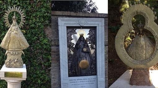 Vírgenes en los Jardines Vaticanos