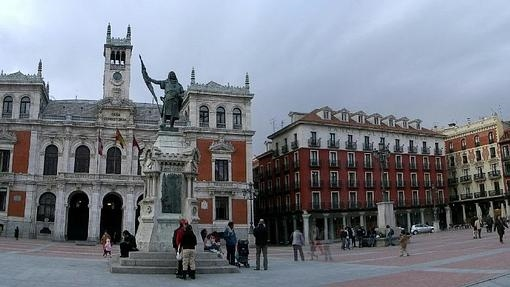 Plaza Mayor, en Valladolid