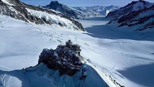 Una imagen del glaciar Aletsch
