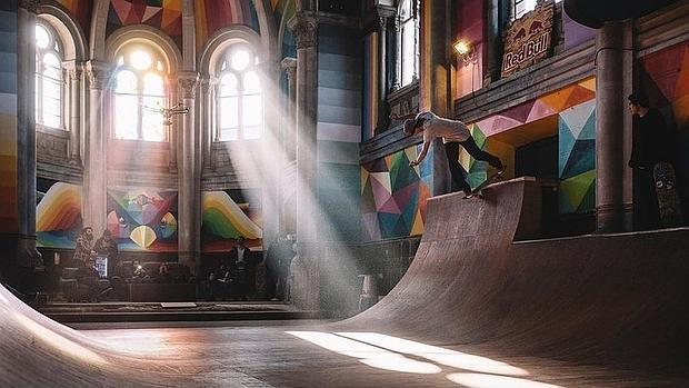 La iglesia skate de Llanera