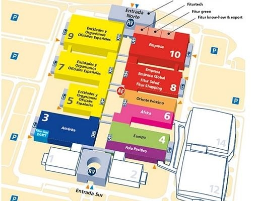 Mapa Pabellones Hospital De Navarra.Vas A Ir A Fitur Esto Es Lo Que Debes Saber