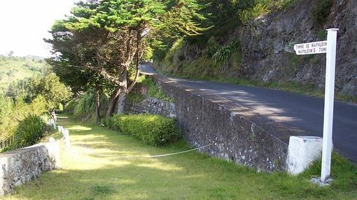 Entrada a la tumba de Napoleón, en Santa Elena