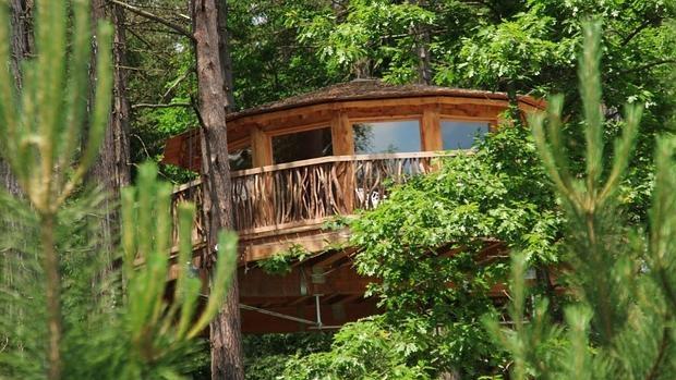 Caba as en los rboles para amantes de la naturaleza - Cabanas en los arboles ...
