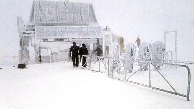 La nevada que cambia el año de esquí