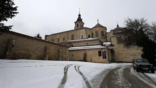 Monasterio de Santa María de El Paular, en invierno