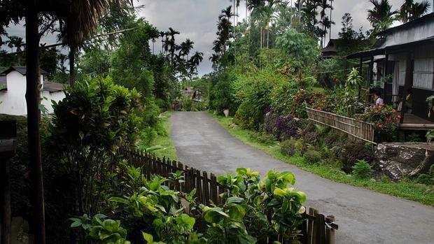 Mawlynnong, el pueblo más limpio de Asia