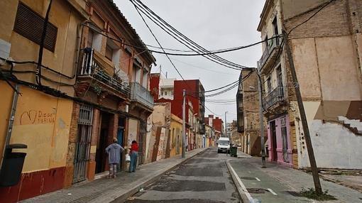 Barrio del Cabanyal, en Valencia