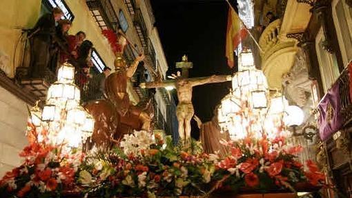 Procesión del Viernes Santo, en Cartagena