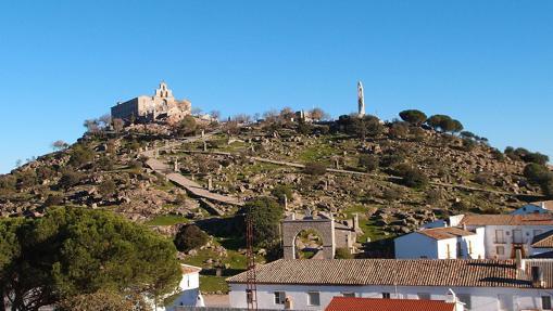 Vista general de la Basílica y Real Santuario de Nuestra Señora de la Cabeza