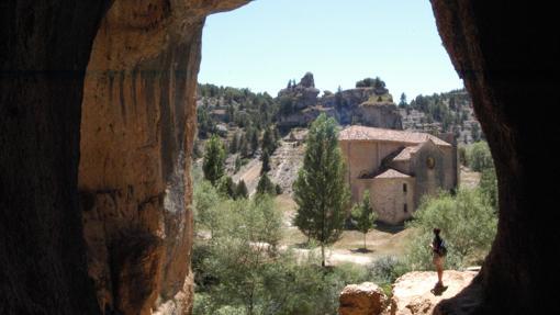 Ermita en el Cañón del Río Lobos, Soria