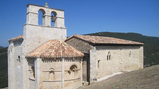 Ermita de San Pantaleón de Losa, en Valle de Losa