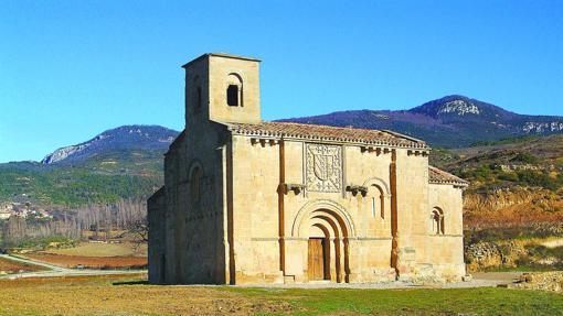 Ermita de Santa Maria de la Piscina de la localidad de San Vicente de la Sonsierra
