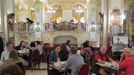 Café New York, en Budapest