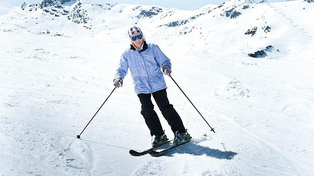 La conmovedora historia de la bisabuela que ha esquiado hasta los 102 años