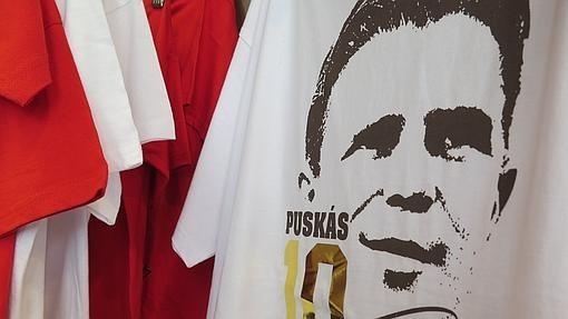 Una camiseta del histórico Ferenc Puskas
